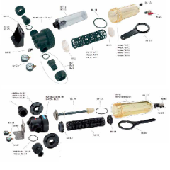 Filtre Cintropur - componente